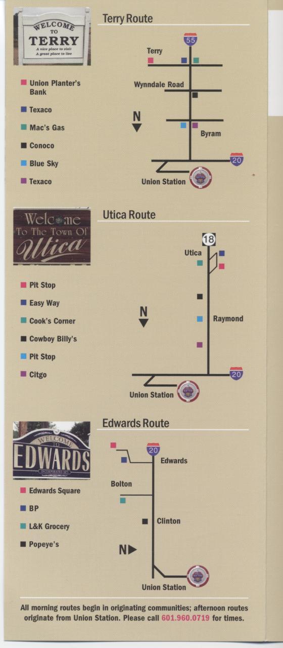 Rural Transportation Maps (brochure)