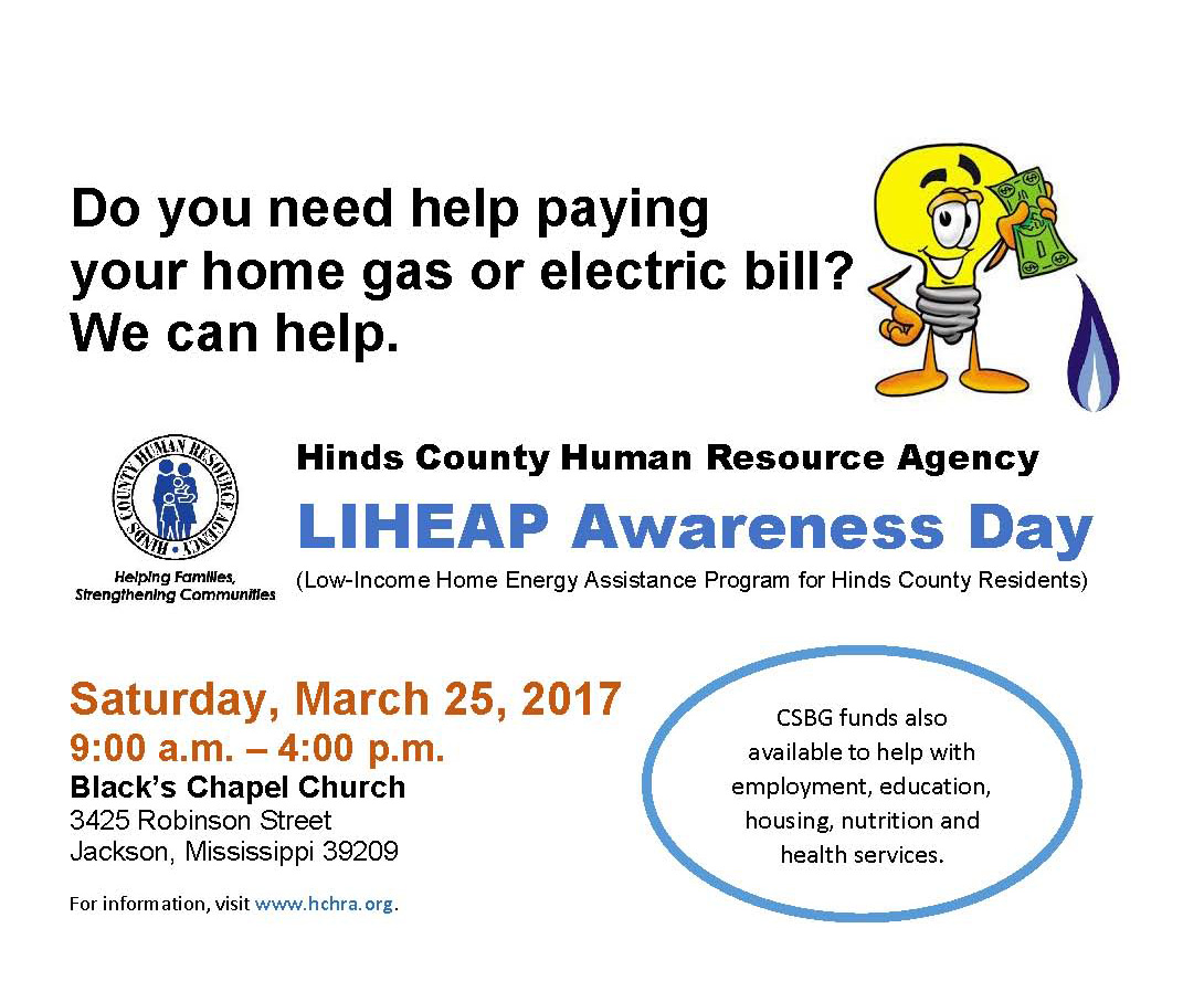 utility payment assistance available on the spot – saturday, march 25th